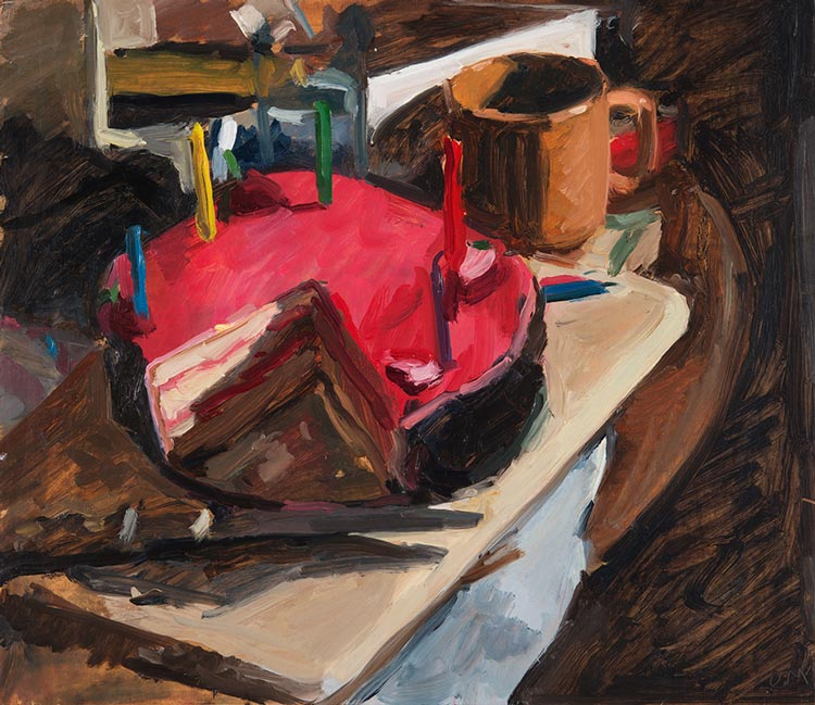 'Birthday Cake Haefligers', 2016, 30x35cm