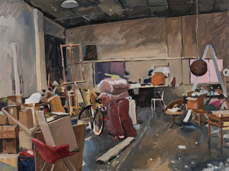 'Dino Consalvo's Studio', 2019, 60x80cm