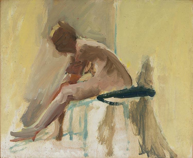 'Life Painting', 2018, 23x28cm