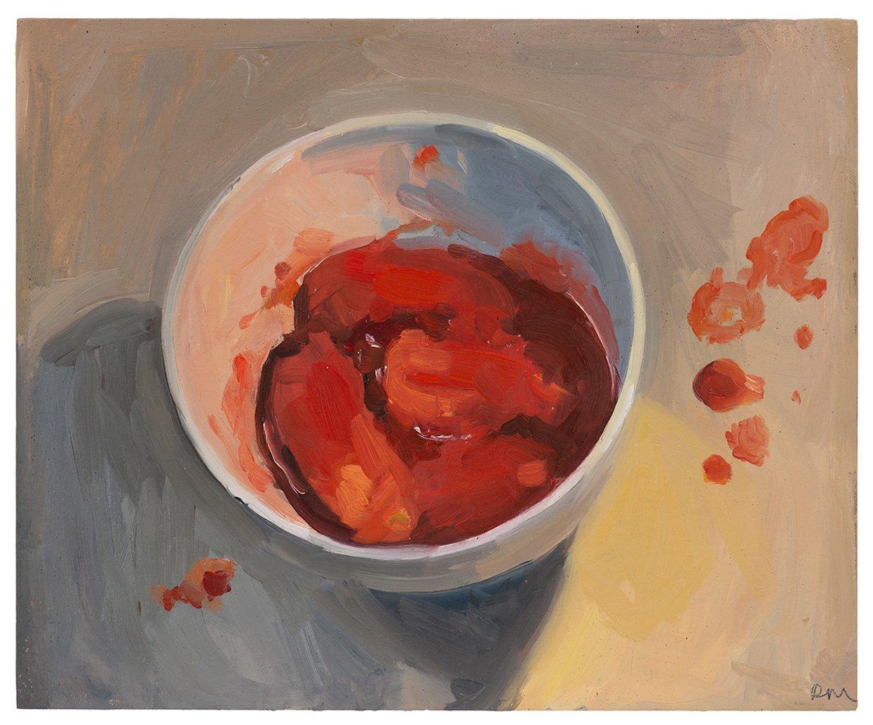 'Tinned Tomato 2020', 23x28, $1500