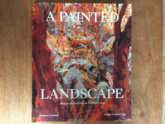 A painted landscape, publication
