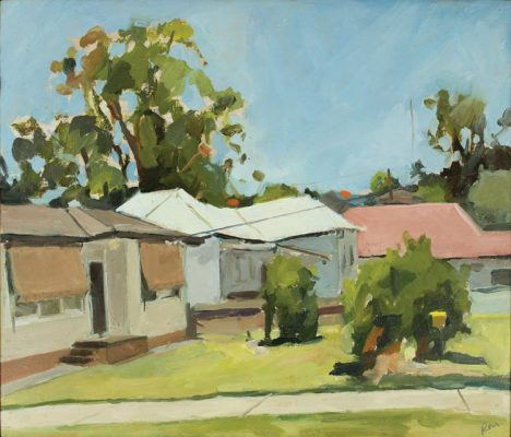 'Next Door', 2018, 30x35cm, Finalist in the 2018 Wynne Prize