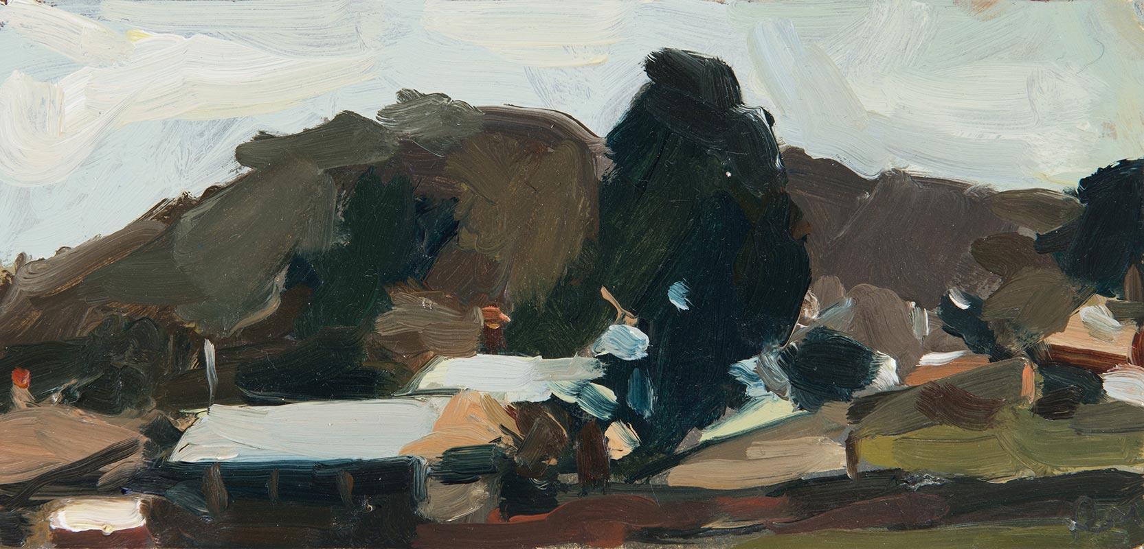 'Rainy Day' by Rachel Milne, fine art painter Newcastle