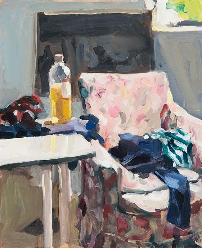 'Studio Chair', 2016, 28x23cm