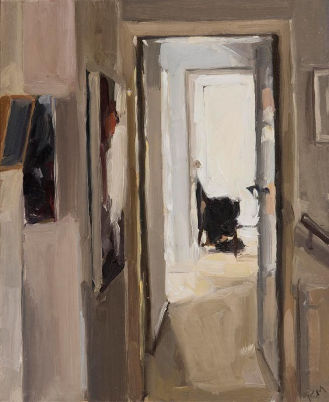 'Belinda Street's Hallway', 2019, 28x23cm