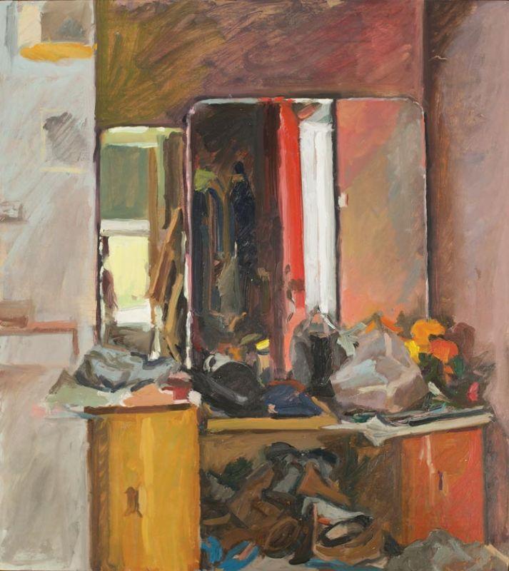'Hallway Mirror', 2018, 45x40cm